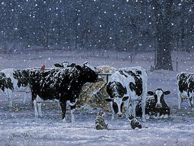 image '' one snowy night ' by bonnie mohr