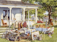 "Image ~ Charles Peterson 's ""Yard Sale"""