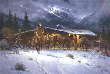 image leaving the high country by g. harvey
