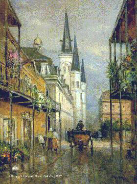 """The French Quarter"" by L. Gordon"